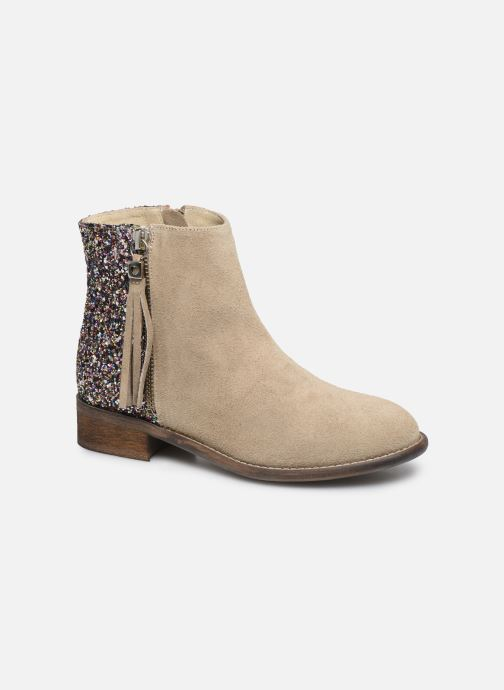 Boots en enkellaarsjes Yep Amelle Beige detail