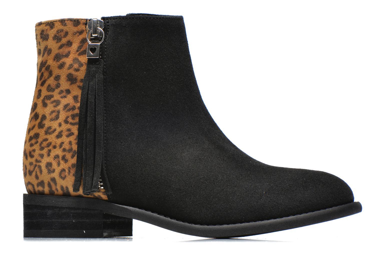 Bottines et boots Yep Amelle Noir vue derrière