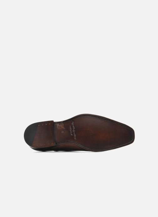 Chaussures à lacets Marvin&Co Luxe Weloofu - Cousu Goodyear Marron vue haut