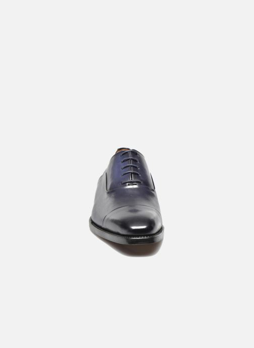 Veterschoenen Marvin&Co Luxe Weloofu - Cousu Goodyear Blauw model