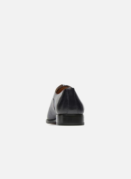 Scarpe con lacci Marvin&Co Luxe Weloofu - Cousu Goodyear Azzurro immagine destra