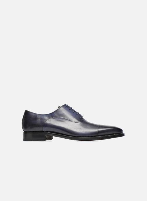Chaussures à lacets Marvin&Co Luxe Weloofu - Cousu Goodyear Bleu vue derrière