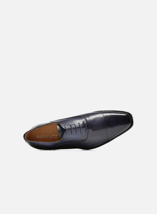 Veterschoenen Marvin&Co Luxe Weloofu - Cousu Goodyear Blauw links