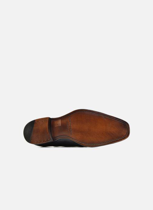 Chaussures à lacets Marvin&Co Luxe Weloofu - Cousu Goodyear Bleu vue haut