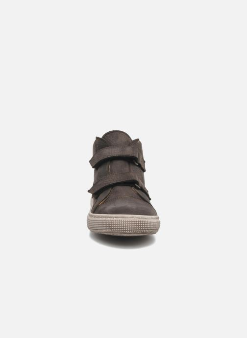 Velcro shoes PèPè Agostino Grey model view