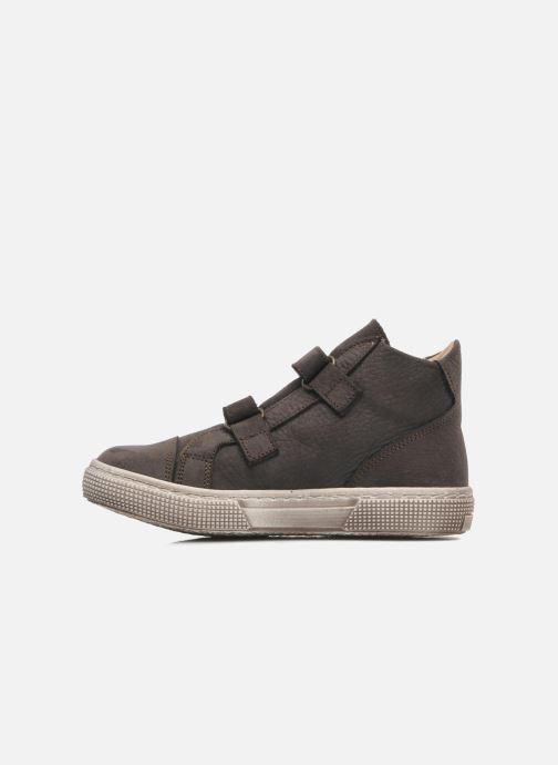 Chaussures à scratch PèPè Agostino Gris vue face