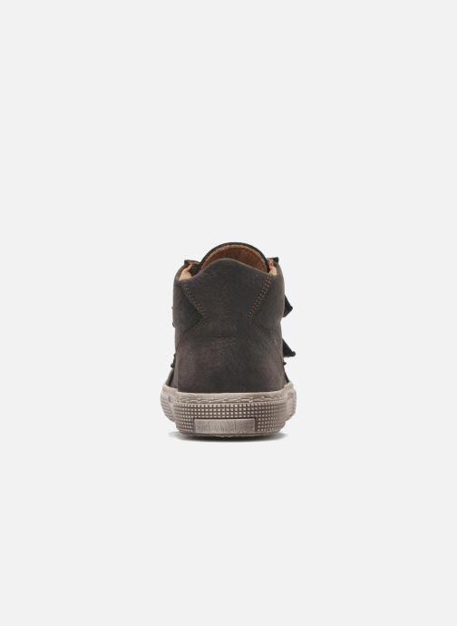Chaussures à scratch PèPè Agostino Gris vue droite