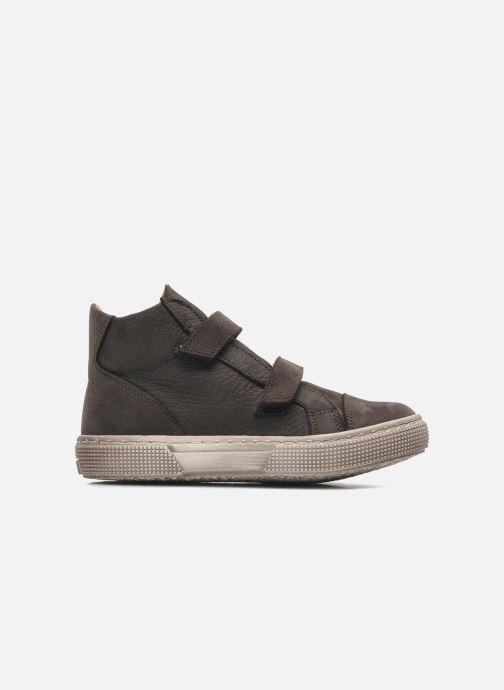 Chaussures à scratch PèPè Agostino Gris vue derrière