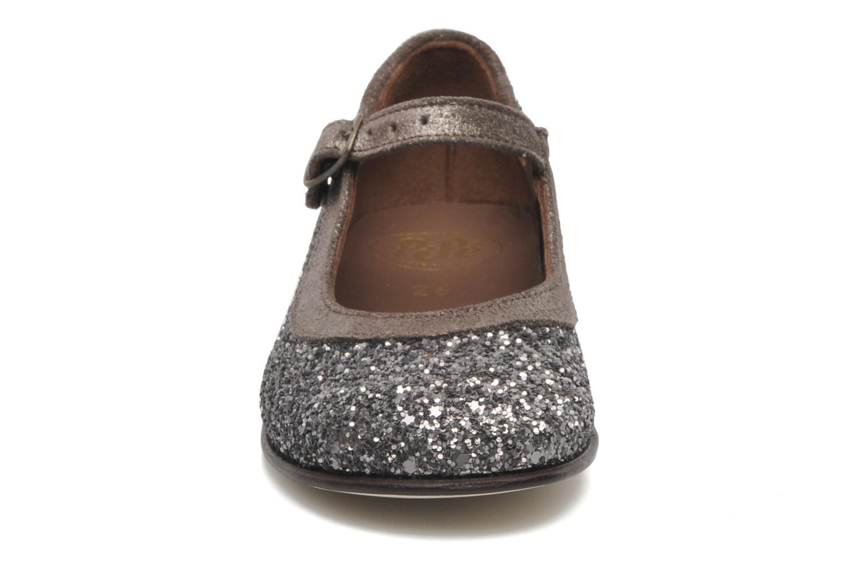 Ballerines PèPè Giuditta Gris vue portées chaussures