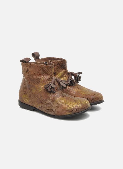 Ankle boots PèPè Gigliola Brown 3/4 view