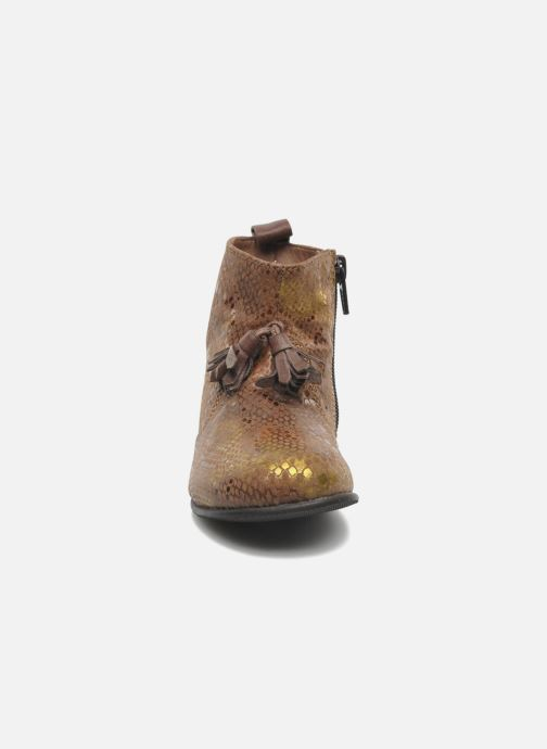Bottines et boots PèPè Gigliola Marron vue portées chaussures