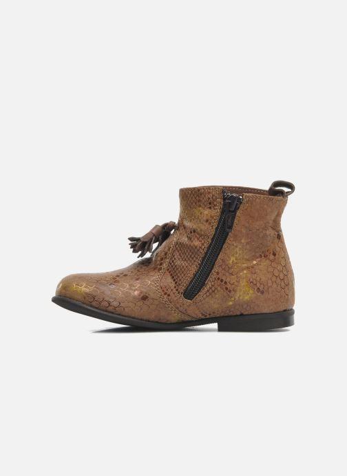 Bottines et boots PèPè Gigliola Marron vue face