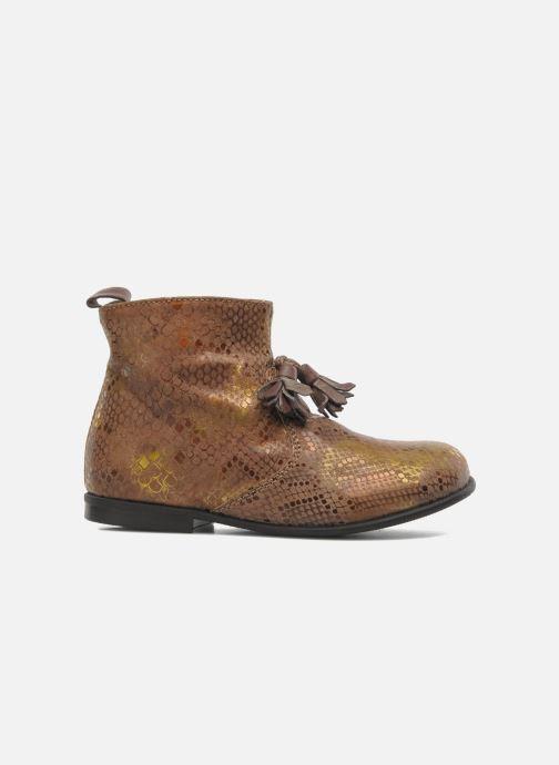 Bottines et boots PèPè Gigliola Marron vue derrière