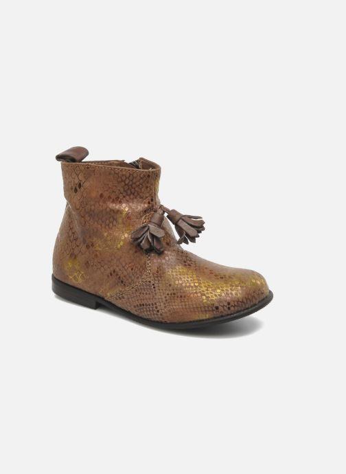 Bottines et boots PèPè Gigliola Marron vue détail/paire
