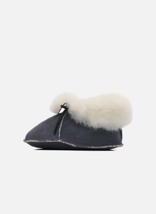 Pantoffels Little Mary Bb Polaire Blauw voorkant
