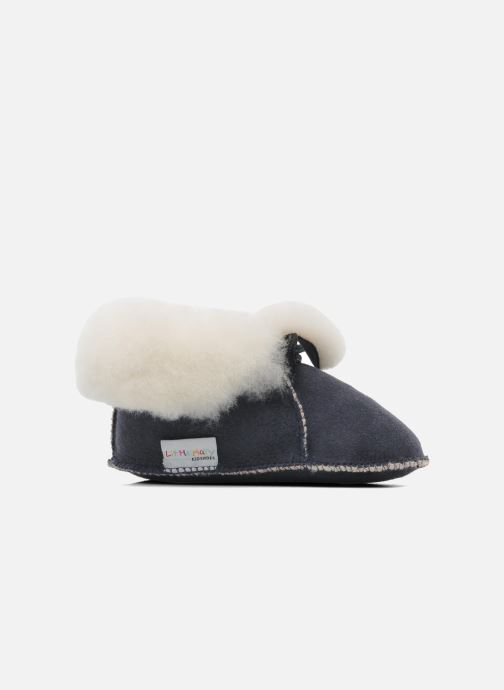 Pantoffels Little Mary Bb Polaire Blauw achterkant