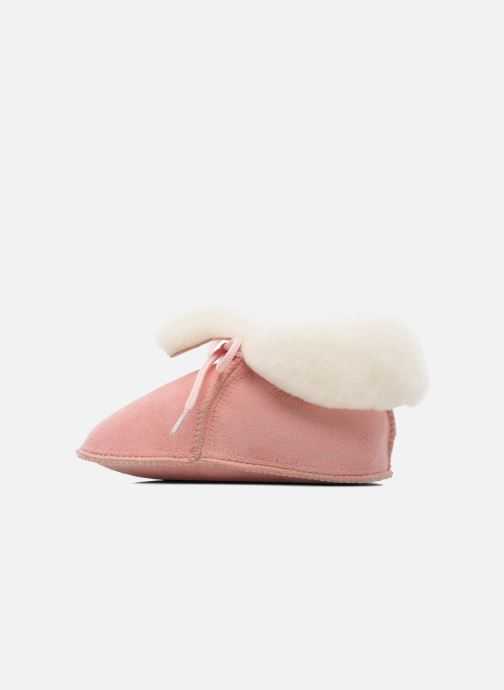 Slippers Little Mary Bb Polaire Pink front view