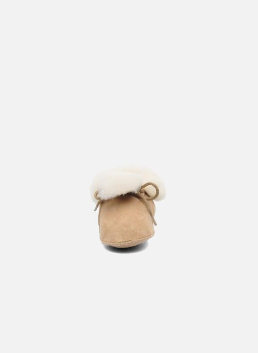 Slippers Little Mary Bb Polaire Beige model view