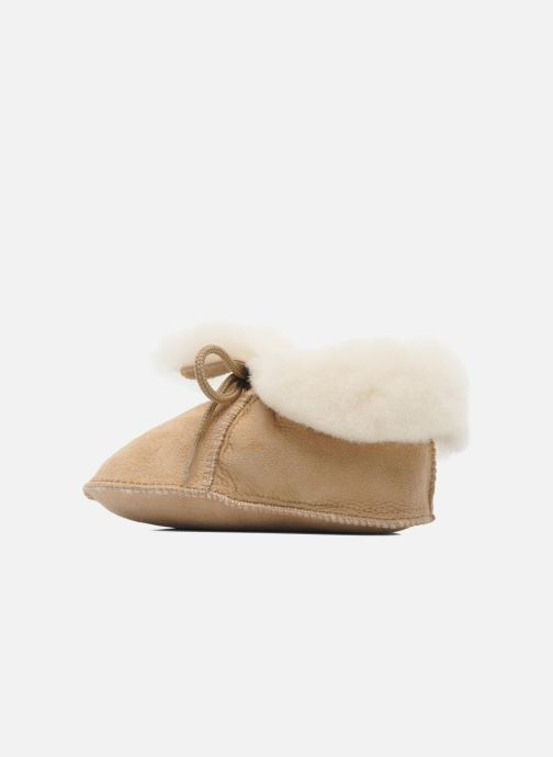 Slippers Little Mary Bb Polaire Beige front view