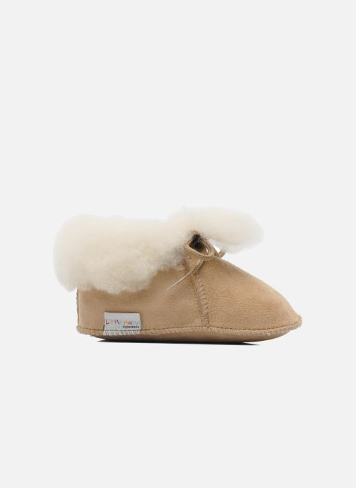 Slippers Little Mary Bb Polaire Beige back view