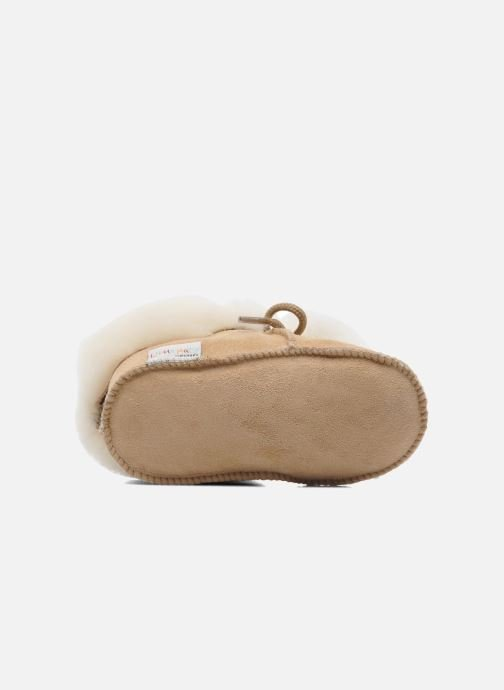 Chaussons Little Mary Bb Polaire Beige vue haut