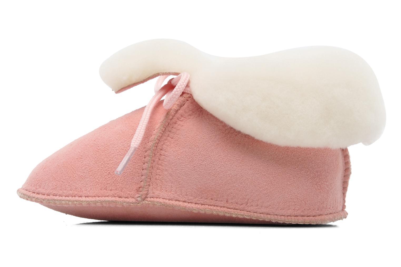 Hausschuhe Little Mary Bb Polaire rosa ansicht von vorne