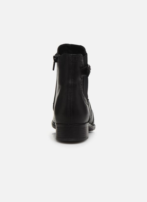 Ankle boots Remonte Carlla R6470 Black view from the right