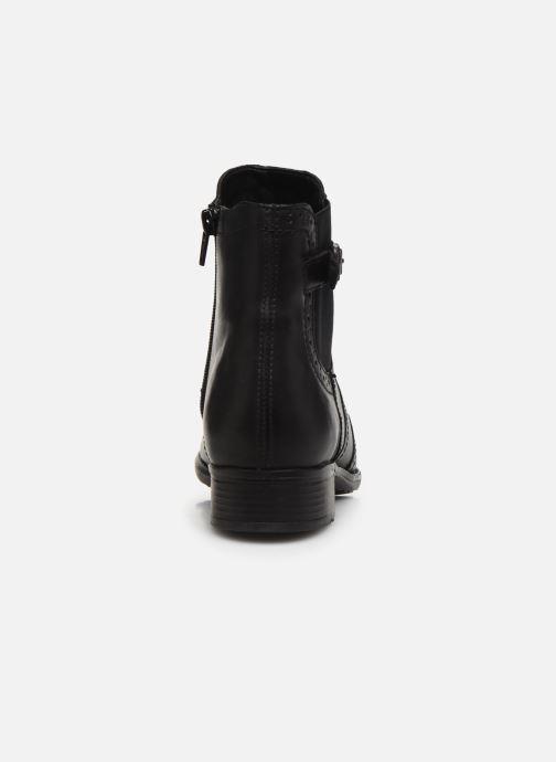 Boots en enkellaarsjes Remonte Carlla R6470 Zwart rechts