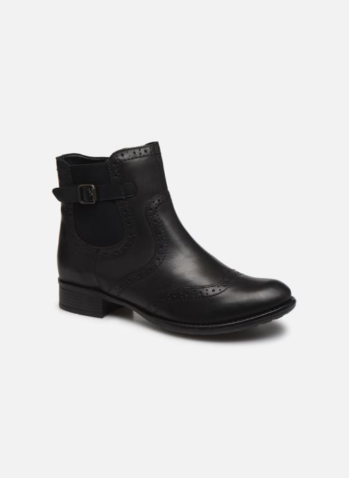 Ankle boots Remonte Carlla R6470 Black detailed view/ Pair view