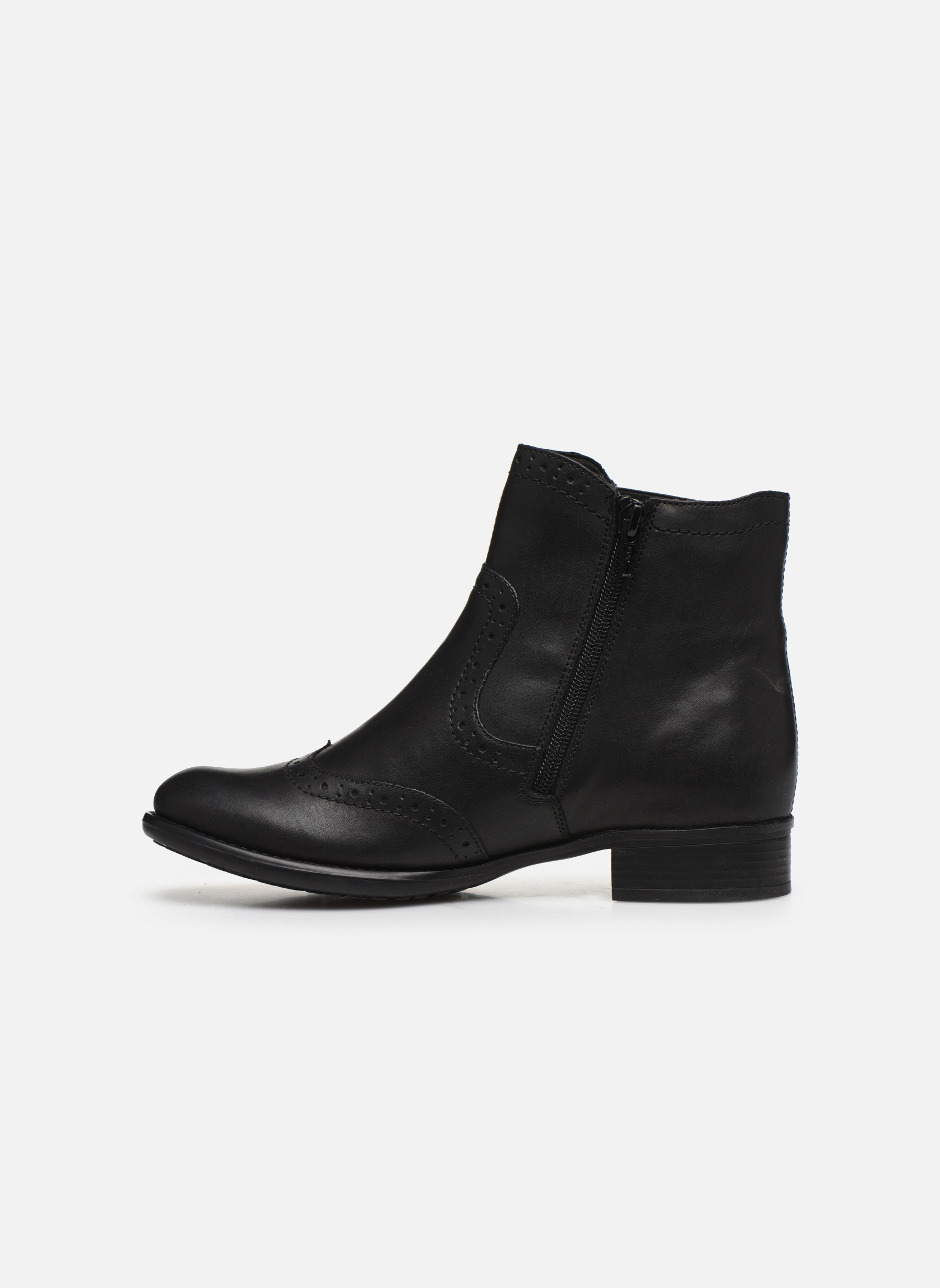 Ankle boots Remonte Carlla R6470 Black front view