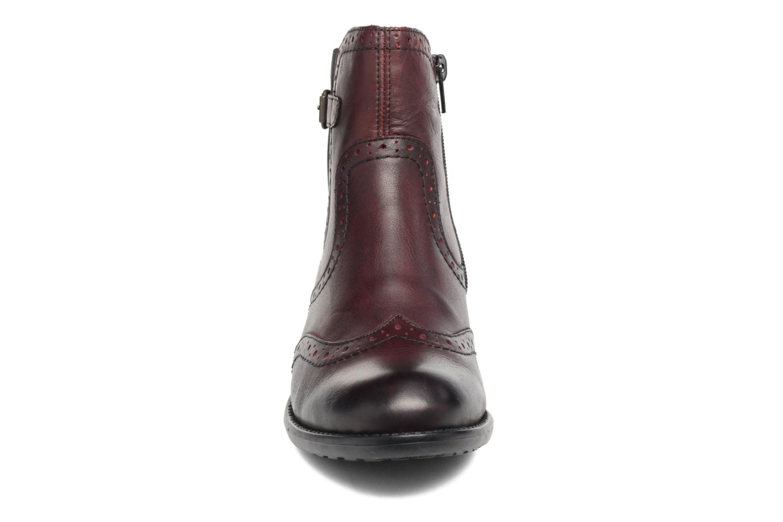 Bottines et boots Remonte Carlla R6470 Bordeaux vue portées chaussures