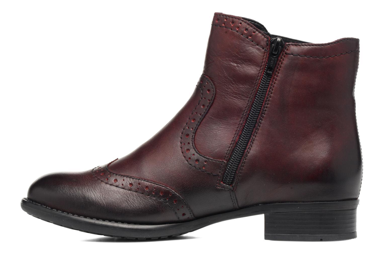 Bottines et boots Remonte Carlla R6470 Bordeaux vue face
