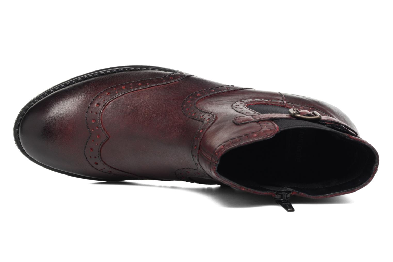 Bottines et boots Remonte Carlla R6470 Bordeaux vue gauche