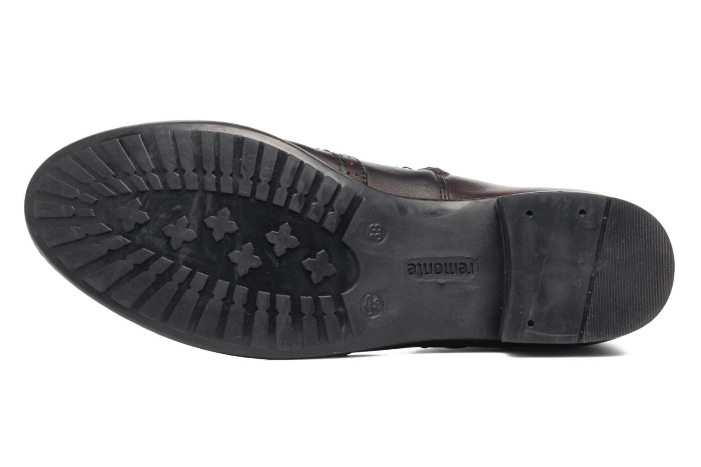 Bottines et boots Remonte Carlla R6470 Bordeaux vue haut