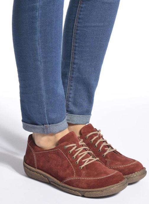 Zapatos con cordones Josef Seibel Neele 02 Marrón vista de abajo