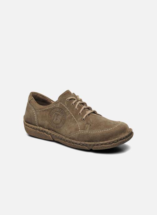 Zapatos con cordones Josef Seibel Neele 02 Marrón vista de detalle / par