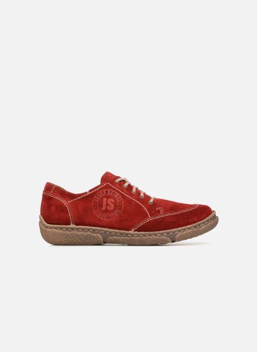 Chaussures à lacets Josef Seibel Neele 02 Rouge vue derrière