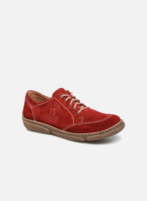 Chaussures à lacets Josef Seibel Neele 02 Rouge vue détail/paire