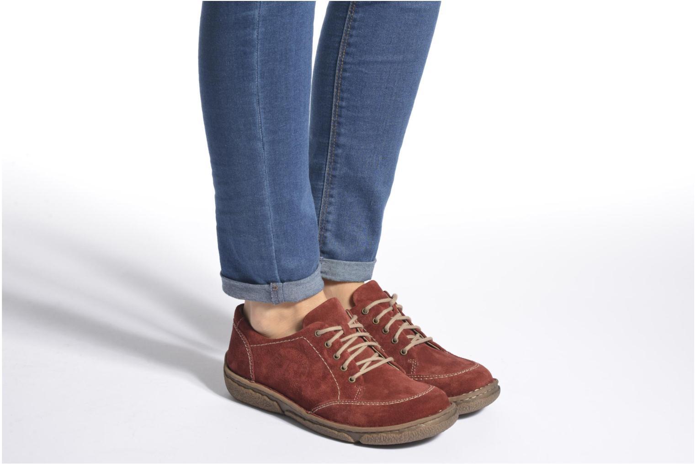 Chaussures à lacets Josef Seibel Neele 02 Marron vue bas / vue portée sac
