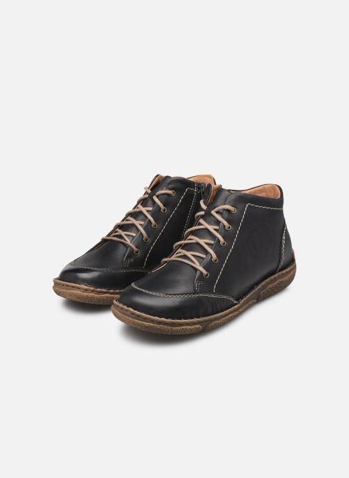 Zapatos con cordones Josef Seibel Neele 01 Negro vista de abajo