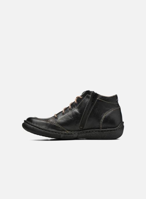 Zapatos con cordones Josef Seibel Neele 01 Negro vista de frente