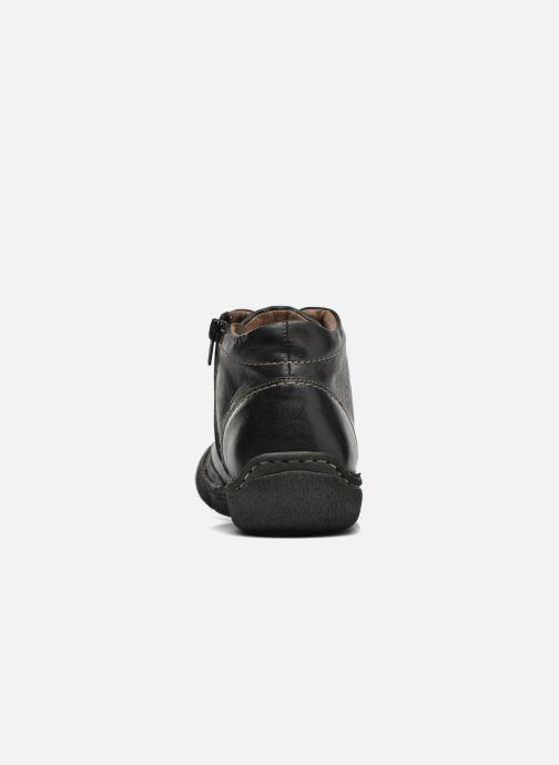 Zapatos con cordones Josef Seibel Neele 01 Negro vista lateral derecha