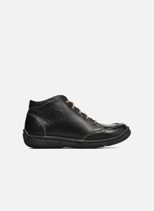 Zapatos con cordones Josef Seibel Neele 01 Negro vistra trasera