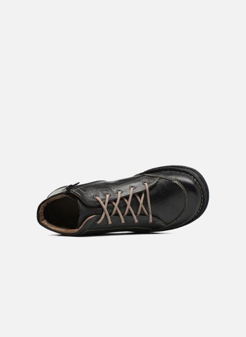 Zapatos con cordones Josef Seibel Neele 01 Negro vista lateral izquierda