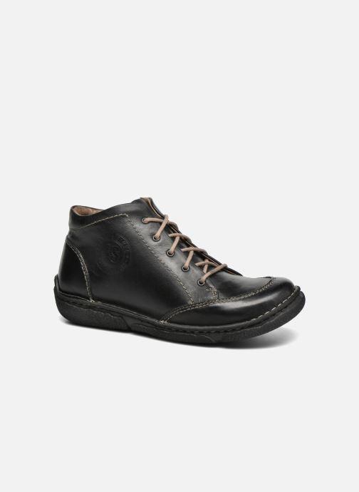 Zapatos con cordones Josef Seibel Neele 01 Negro vista de detalle / par