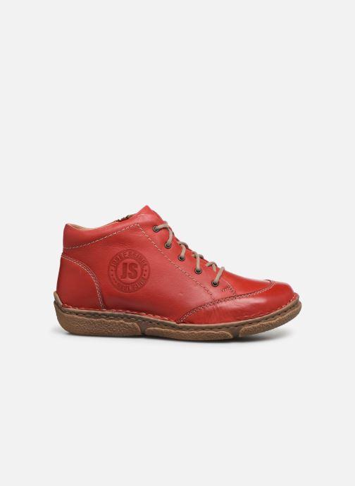 Zapatos con cordones Josef Seibel Neele 01 Rojo vistra trasera