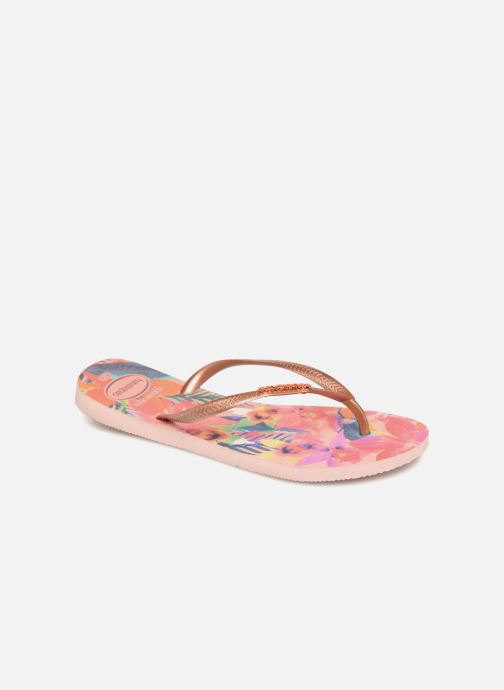 Slippers Havaianas Slim Tropical Multicolor detail