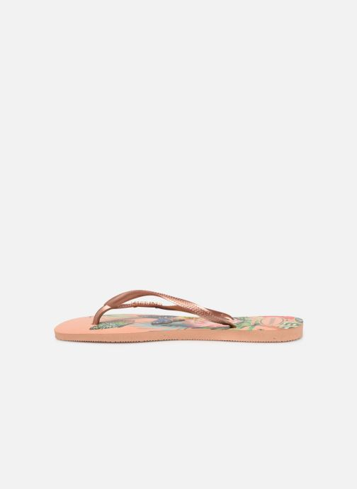 Tongs Havaianas Slim Tropical Multicolore vue face