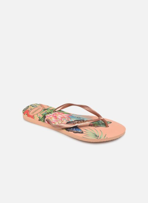 Tongs Havaianas Slim Tropical Multicolore vue détail/paire