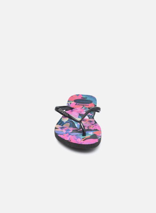 Chanclas Havaianas Slim Tropical Multicolor vista del modelo